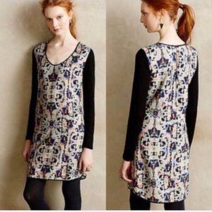 Anthropologie HD in Paris Painted Symmetry dress